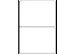 Planche A4 étiquette 199.6 x 143.5 mm