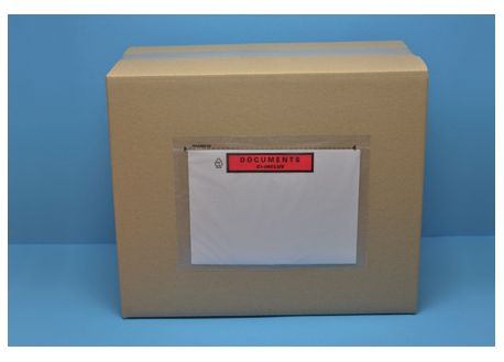 Pochette transparente autocollante ECO-LIST