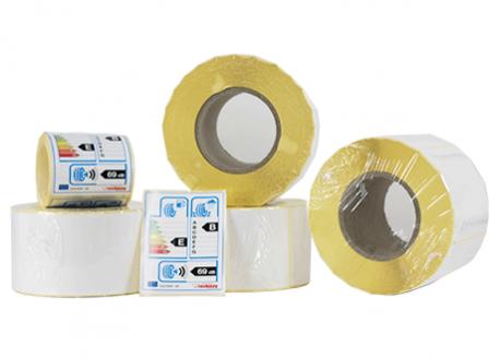 Etiquettes Ultra-adhesive jet d'encre et laser Polypro brillant et mat