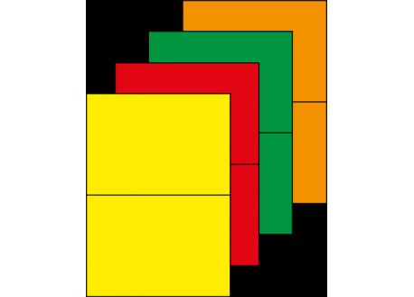 Planche A4 étiquettes 210 x 148,5 mm