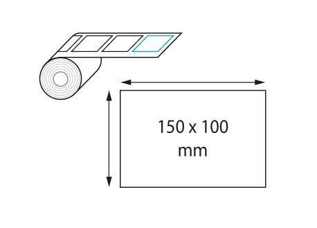 Etiquettes 150 x 100 mm jet d'encre et laser en rouleau