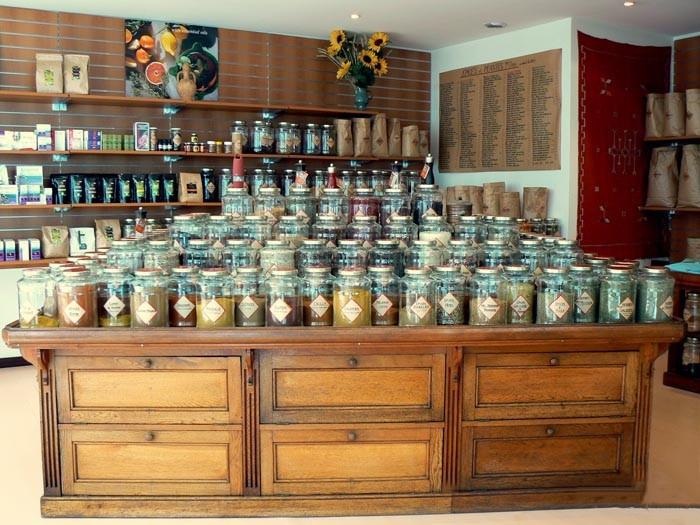 Etiquettes boîtes herboristerie