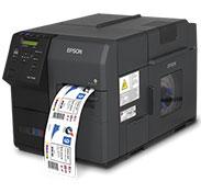 Etiquettes pour EPSON C7500